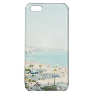 West Coast Beach Town Scene Case For iPhone 5C