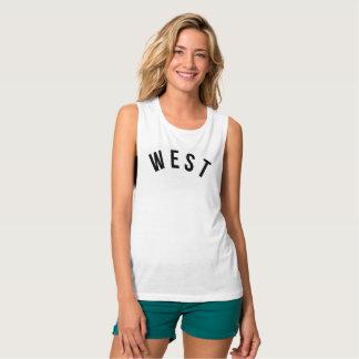 West Coast, Best Coast Flowy Muscle Tank Top