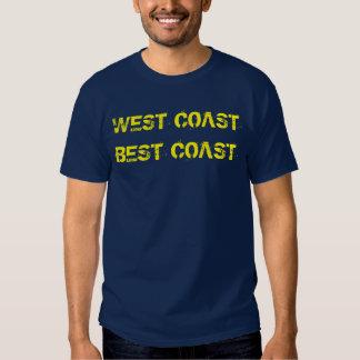 """""""West Coast Best Coast"""" t-shirt"""