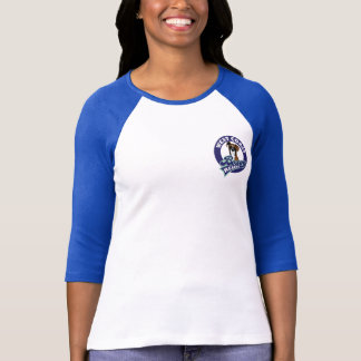 West Coast Boxer Rescue Women's Baseball T-shirt