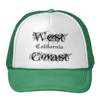 West Coast, California Cap