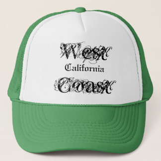 West Coast, California Trucker Hat