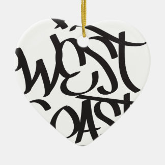 west coast christmas ornament