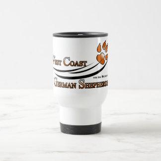 West Coast German Shepherds Travel Mug