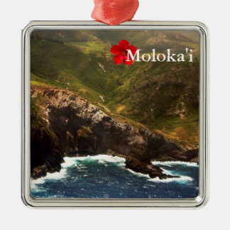 West Coast of Molokai Christmas Ornament