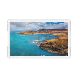 West coast of Scotland Acrylic Tray