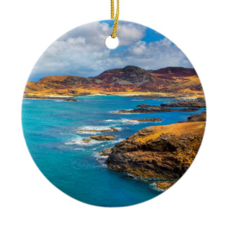 West coast of Scotland Christmas Ornament