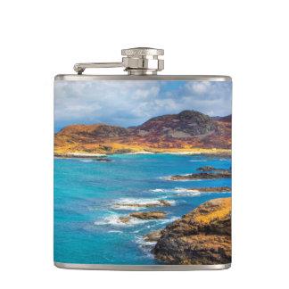 West coast of Scotland Hip Flask
