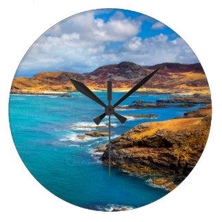 West coast of Scotland Large Clock
