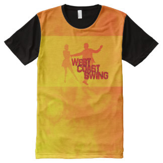 West Coast Swing All-Over Print T-Shirt