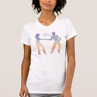 West Coast Swing Typography Tee Shirts