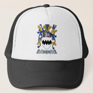 west coat of arms trucker hat