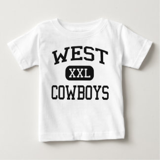 West - Cowboys - High School - Denver Colorado T-shirts