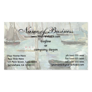 West Cowes, Isle of Wight by Berthe Morisot Pack Of Standard Business Cards