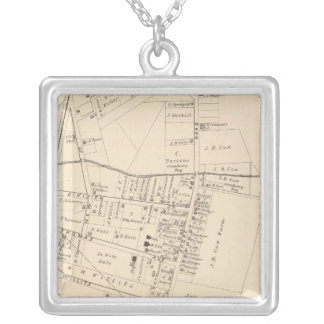 West Creek, New Jersey Silver Plated Necklace