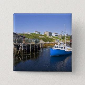 West Dover, Nova Scotia, Canada. 15 Cm Square Badge