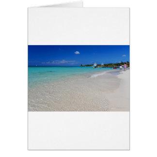 West End Beach.JPG Greeting Card