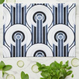 West End Blues Tea Towel