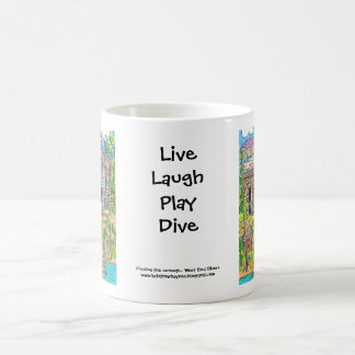 West End Divers Mug