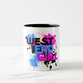 West End Girl Womens 80s Mugs