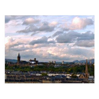 West End Glasgow Postcard