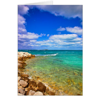 West End Grand Bahamas Greeting Card