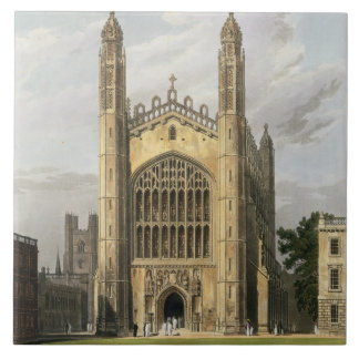 West End of King's College Chapel, Cambridge, from Large Square Tile