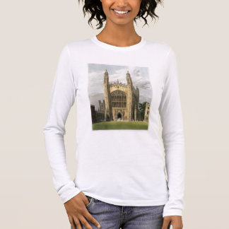 West End of King's College Chapel, Cambridge, from Long Sleeve T-Shirt
