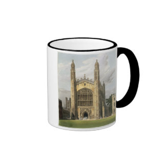 West End of King's College Chapel, Cambridge, from Coffee Mugs