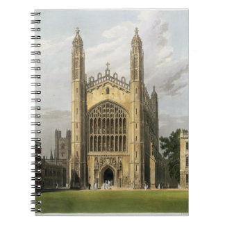 West End of King's College Chapel, Cambridge, from Notebook