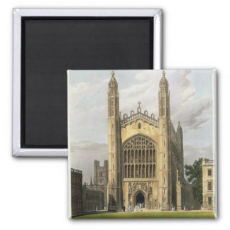 West End of King's College Chapel, Cambridge, from Square Magnet