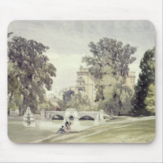West End of the Serpentine, Kensington Gardens Mouse Pad