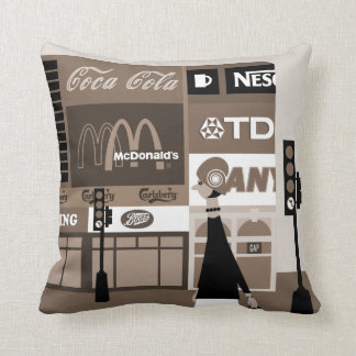 West End Throw Pillow