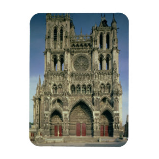West Facade, c.1220-70 (photo) (for details see 94 Rectangular Photo Magnet