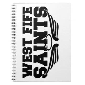 West Fife Saints Notebook