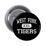 West Fork - Tigers - High - West Fork Arkansas Button