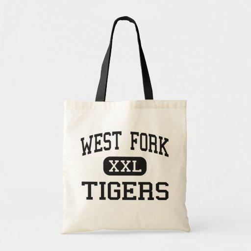 West Fork - Tigers - High - West Fork Arkansas Budget Tote Bag