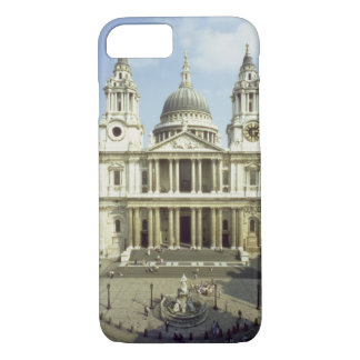 West front of St. Paul's Cathedral, designed by Si iPhone 8/7 Case