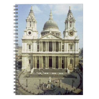 West front of St. Paul's Cathedral, designed by Si Notebooks