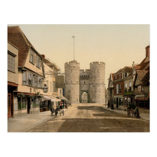 West Gate, Canterbury, Kent, England Postcard