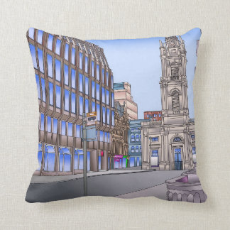 West George Street Glasgow Cushion