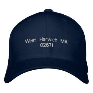 West Harwich MA 02671 - ball cap Embroidered Hats