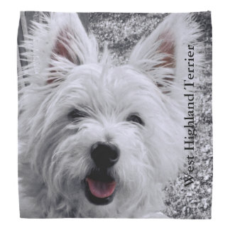 West Highland Terrier Bandana