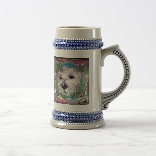 West Highland Terrier Beer Stein