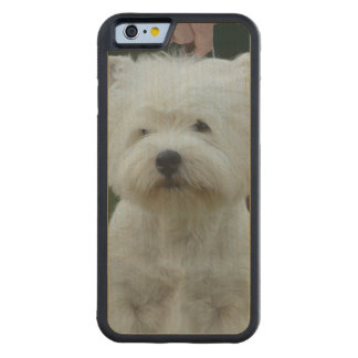 West Highland Terrier Carved® Maple iPhone 6 Bumper