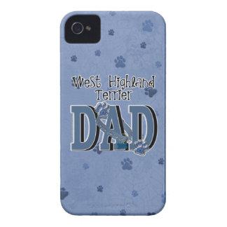 West Highland Terrier DAD iPhone 4 Case