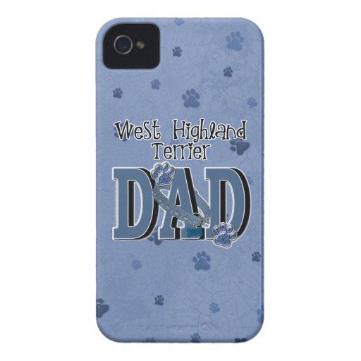 West Highland Terrier DAD Blackberry Bold Cases