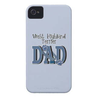West Highland Terrier DAD Case-Mate iPhone 4 Cases