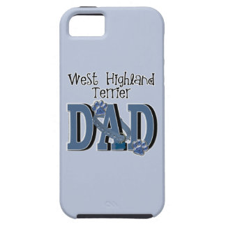 West Highland Terrier DAD iPhone 5 Cases