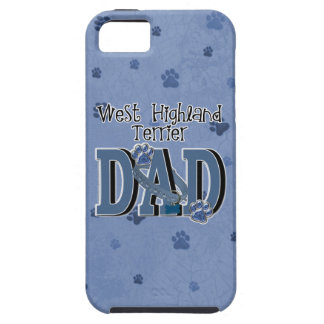 West Highland Terrier DAD iPhone 5 Cover